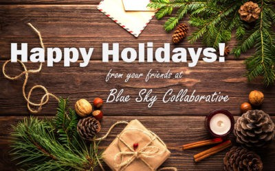 Happy Holidays From The Blue Sky Collaborative Peer To Peer Fundraising Team