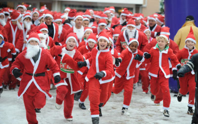 Santa Fun Run Fundraising Software Features