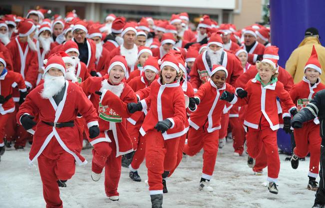 Santa Fun Run Fundraising Software Features