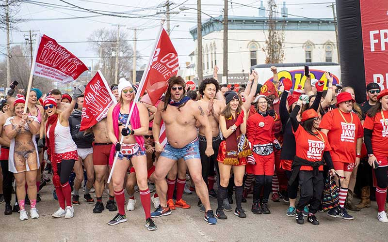 Cupid's Undie Fun Run Fundraiser