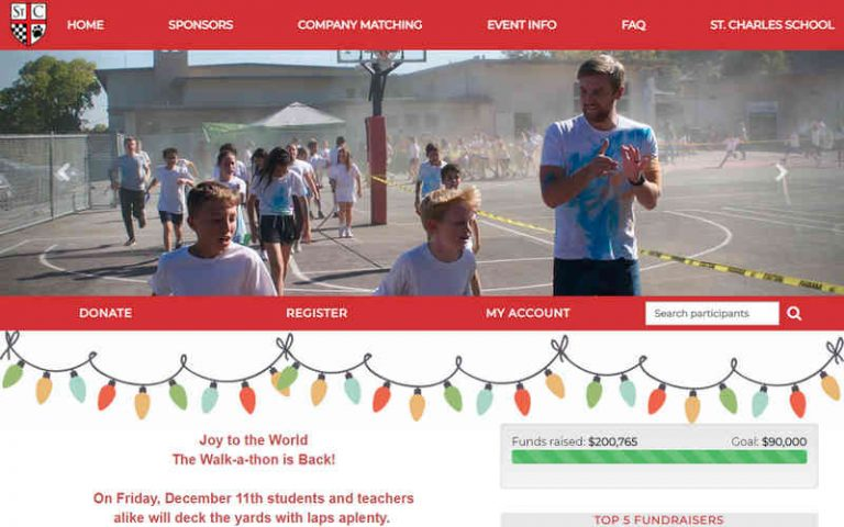 St. Charles School Doubles Fundraising Goal with SWEET! by Blue Sky